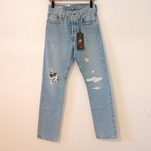 Levi's original 501 USA crafted high rise jeans